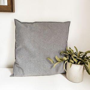 Stripped toss pillow
